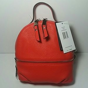 NWT STEVE MADDEN SMALL RED BACKPACK
